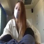 【ラブホフェラチオ盗撮】マスクをしたやる気の無さそうなデリヘル嬢がハメ撮りカメラの前でフェラチオ!チンポ好きそうなギャルだな!