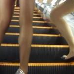 【パンストギャル盗撮】パンチラよりパンスト優先!パンティストッキングが妙にエロく見える美脚ギャルを盗撮!日本人と思ったら韓国人だった!?