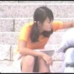 【水平パンチラ盗撮part6】ベンチや地ベタに座る女性の股、エッチな太ももの先に見える三角形▼のパンツ。その名をデルタパンチラと呼ぶ!魅惑のスカート内デルタゾーンパンチラを覗き見せよ!